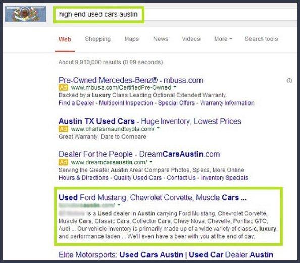 search engine optimisation austin dallas houston san antonio